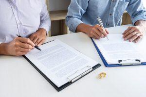 testament bij scheiding
