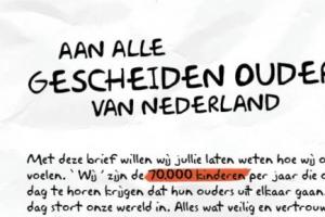 aan alle gescheiden ouders van Nederland